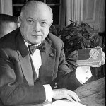 David Sarnoff With 7-BT-7J