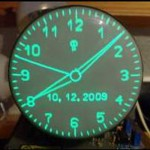 Scope Clock Display