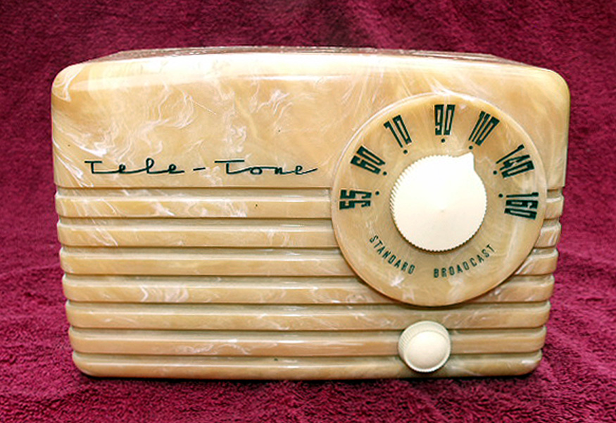 TeleTone Model 195 Radio -> Model Table Tele