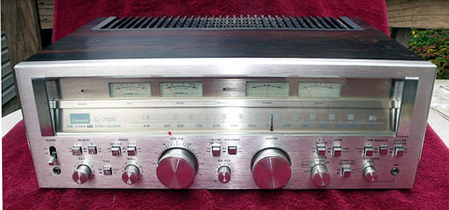 Sansui G-7500 Stereo Receiver