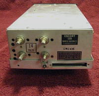 Narco 'Escort' 110 Aircraft Direction Finding Receiver - Rear