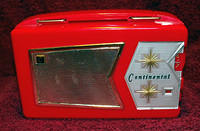 1950s Continental Model M-431Portable Japanese Tube Radio