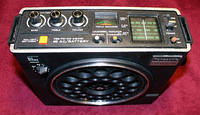 Panasonic RF-888 PSB-AM-FM Radio With Mic Input (~1976)